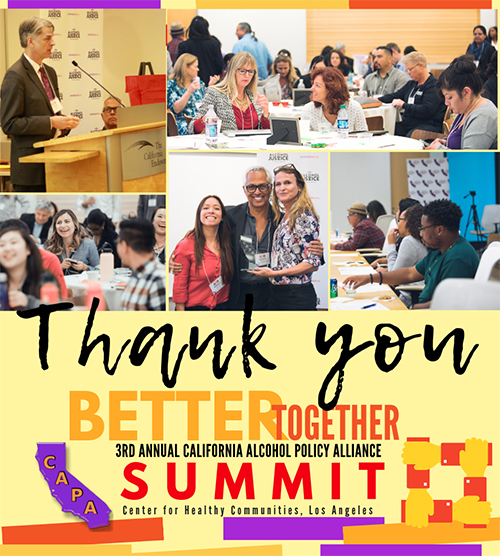 CAPA 2018 Summit Thank You Flyer