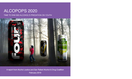 <span style='letter-spacing: 2px;'>NEW! Alcopops 2020: Time to End Big Alcohol's Predation on Youth</span>
