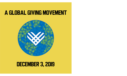 <span style='letter-spacing: 2px;'>Tuesday, December 3 Is GIVING TUESDAY</span>