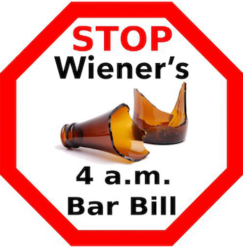 Stop Wieners Late-Night Bar Bill