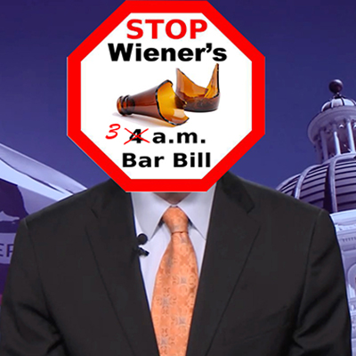 scott wiener only has one thing in his head--the dangerous extension of bar closing times